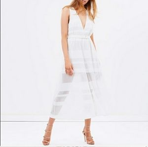 NWOT Alice McCall you + me jumpsuit white sz 4
